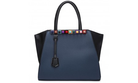 House of Milano Grab Bag - Navy Blue